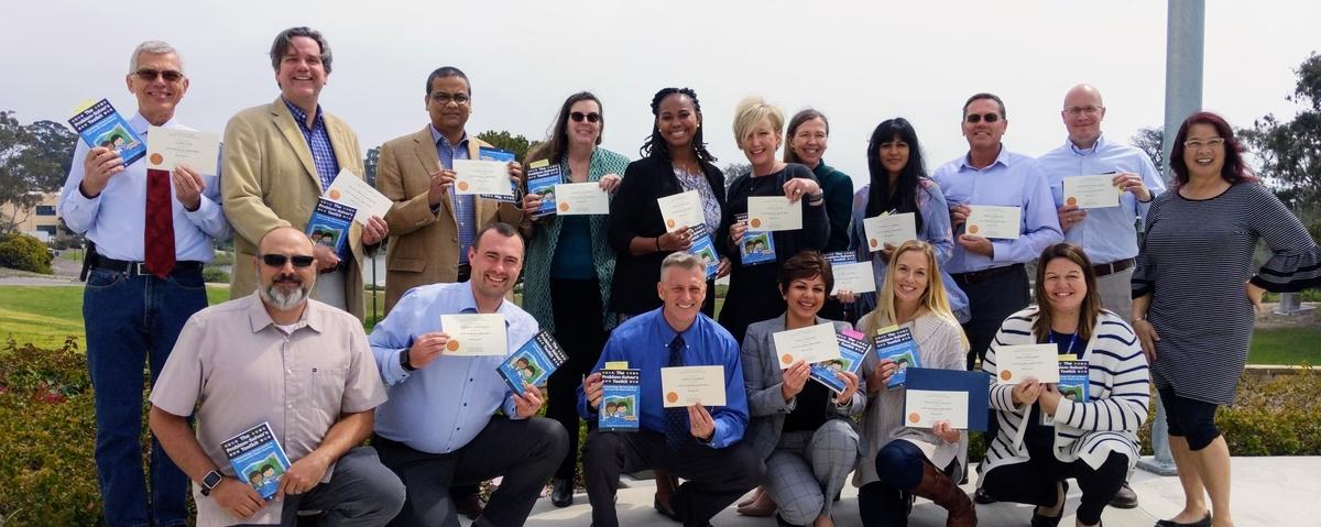 UCSB Lean Six Sigma Cohort 1 Graduates